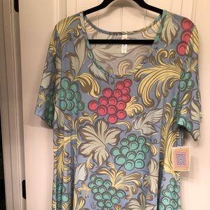 Fruit Pattern Tunic (LuLaRoe Perfect T)